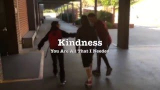 Kindness Music Video made by middle school students