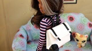 getlinkyoutube.com-How to Make a Doll Backpack - Doll Crafts
