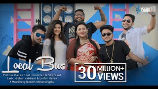 getlinkyoutube.com-Local Bus | Official Music Video | Pritom feat. Momtaz And Shafayat | Bangla New Song | 2016