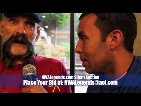 NWALegends.com FanFest Silent Aucton: Ox Baker Stretcher