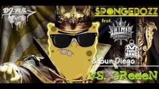 getlinkyoutube.com-SpongeBOZZ feat. Kollegah, Farid Bang & Sun Diego VS. GReeeN (Dynamit RMX) - Dj-N!k
