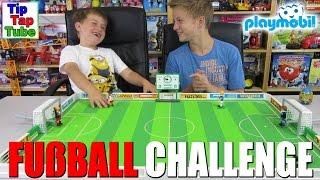 getlinkyoutube.com-DIE PLAYMOBIL FUßBALL CHALLENGE - TipTapTube-Kinderkanal