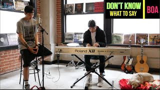 getlinkyoutube.com-BOA – Don't Know What To Say (Cover) - Amber (엠버)