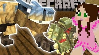 getlinkyoutube.com-Minecraft: MONSTER HUNTER! (INSANE WEAPONS & EPIC BOSSES!) Mod Showcase