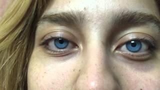 getlinkyoutube.com-Permanently changing your eye color / bright ocular