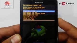 getlinkyoutube.com-How To Hard Reset Huawei Ascend Y511-U30 Phone