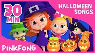 getlinkyoutube.com-The Best Songs of Halloween   + Compilation   PINKFONG Songs for Children