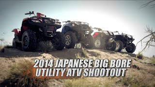 getlinkyoutube.com-2014 Japanese Big Bore Utility ATV Shootout