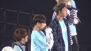 getlinkyoutube.com-161129 BTS JAPAN OFFICIAL FAN MEETING VOL.3 in Tokyo DAY2 Young Forever(JP Ver.) Jungkook Focus