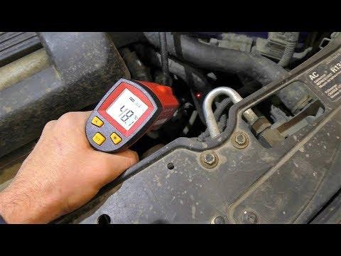 Проверка и замена термостата на Volkswagen Polo 6N