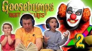 Goosebumps: JUMP SCARE - Night Of Scares GAME PLAY [2]