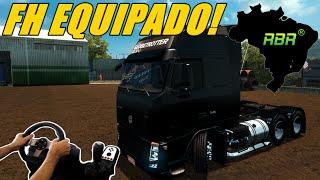 getlinkyoutube.com-EURO TRUCK SIMULATOR 2 - VOLVO FH EQUIPADO, MAPA RBR, JOGANDO COM O VOLANTE G27!!!