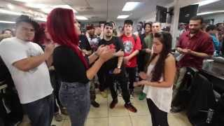 getlinkyoutube.com-BMNY- Robyn Banks vs Banshee Bliss - Female Rap Battle