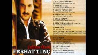 Ferhat Tunc Söz Bitti  mp3  şarkısı mp3 dinle