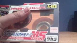 getlinkyoutube.com-Beyblade Driger MS, Draciel MS, and Gaia Dragoon MS Unboxing + Battle!