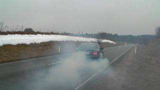 E 55 AMG with Kleemann 55-K2 tuning, power burnout 3