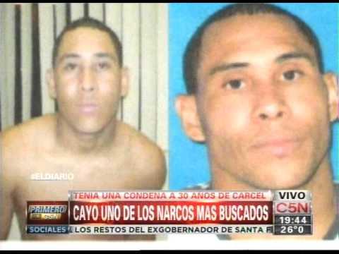 C5N - POLICIALES: CAYO UNO DE LOS NARCOS MAS BUSCADOS