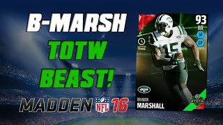 getlinkyoutube.com-Nasty Team of the Week Heroes! | Madden 16 Ultimate Team - Brandon Marshall & Pat Pete