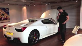 getlinkyoutube.com-Picking up my new 2013 Ferrari 458 Spider