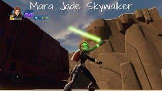 getlinkyoutube.com-Disney Infinity 3.0 - Natasha Romanoff AKA Black Widow, as Mara Jade Skywalker!