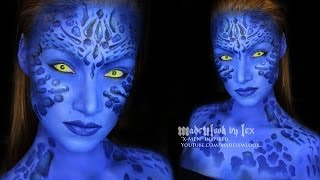 getlinkyoutube.com-Mystique (X-Men) Makeup Tutorial AND ANNOUNCEMENT