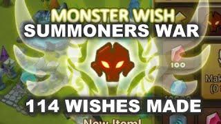 getlinkyoutube.com-Summoners War - 114 Wishes Made