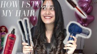 getlinkyoutube.com-HOW I CURL MY HAIR WITH A FLAT IRON | TUTORIAL & TIPS NYATOK | Indonesia | Prisya Thalia Basir