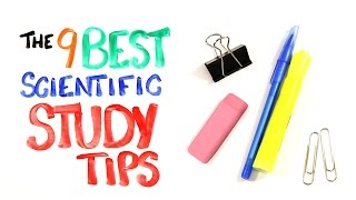 The 9 BEST Scientific Study Tips width=