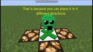 getlinkyoutube.com-Minecraft | Model of the week | PEASHOOTER (PvZ)