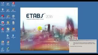 getlinkyoutube.com-installing and activation ETABS 2016
