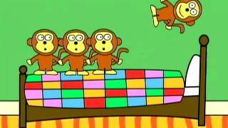 getlinkyoutube.com-Gracie Lou - Five little monkeys