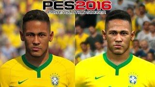 getlinkyoutube.com-PES 2016 - PS4/XONE vs PS3/X360 - BRASIL FACE COMPARISON (1080p)