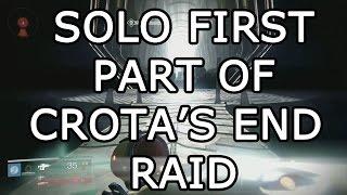Destiny: Solo first part of Crota's End (Bladedancer) EASY!