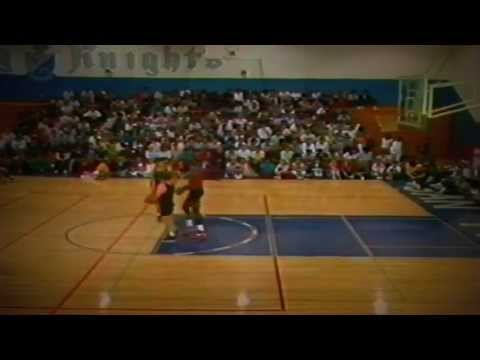 Rewind Basketball Clip Of The Week: Charlie Sheen Beats Michael Jordan Back In The 80's!
