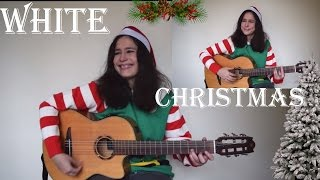 White Christmas (guitar cover) rumba, flamenco, Spanish guitar version with TAB!