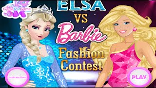 getlinkyoutube.com-Barbie Dress Up Games - Barbie and Frozen Dress Up Games - Barbie Make Up Games