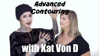 getlinkyoutube.com-Kat Von D Makeup -  Advanced Contouring  Full Face using The Shade Light Contour Collection