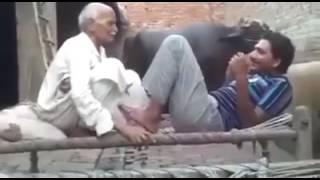 Pakistani baba funny video width=