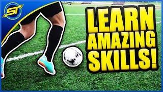 getlinkyoutube.com-Learn Amazing Football Skills Tutorial ★ HD - Neymar Skills/Ronaldo/Messi Skills