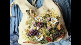 getlinkyoutube.com-Потрясающие авторские кожаные сумки своими руками от Дианы Светличной