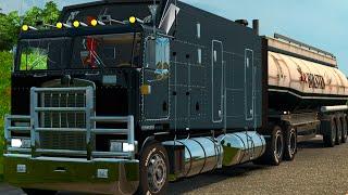Euro Truck Simulator 2 - Mapa Russia : Kenworth K100 cabine GIGANTE