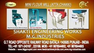 getlinkyoutube.com-Mini Flour Mill without stone  (Atta Chakki)