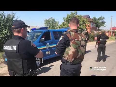 З'явилося відео нападу на інкасаторів в Одесі