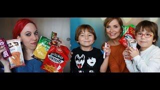 getlinkyoutube.com-Özge ve Çocuklar ile Belgrad Abur Cuburlarını Tattık | Ortak Video