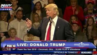 getlinkyoutube.com-FULL: Donald Trump Thank You Tour 2016 - Cincinnati, Ohio 12/1/16