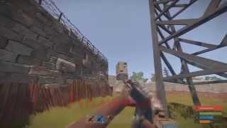 getlinkyoutube.com-Rust - 1 Man Helicopter Kill