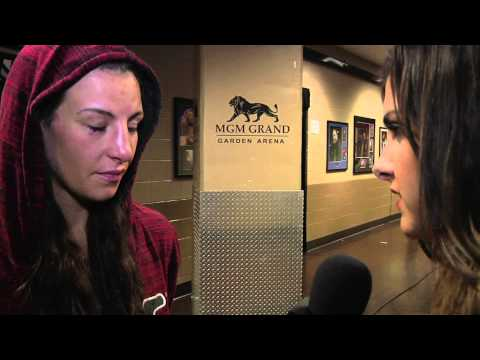 UFC 168: Miesha Tate Backstage Interview