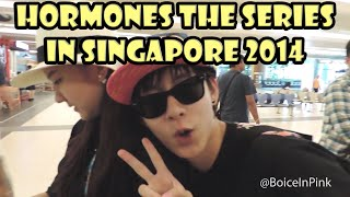 getlinkyoutube.com-[Oct 2014] Hormones The Series Cast in Singapore