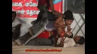 Tamil Stage Dance Girls Group Dance