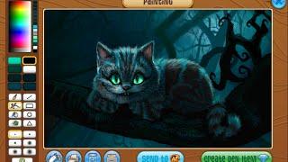 getlinkyoutube.com-Animal jam masterpiece speedpaint - Cheshire cat
